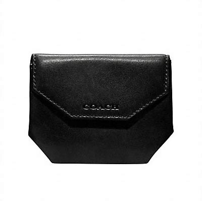 timeless design 32d7d 26882 コーチ/Coach/メンズ/コインケース:bleecker legacy leather coin case - BLACK
