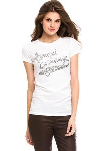 the latest 6e06b 4980e アルマーニエクスチェンジ/Armani Exchange/レディース/Tシャツ:Stacked Script T-Shirt - White