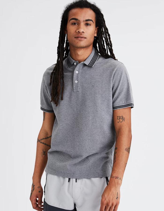 アメリカンイーグル新作ポロシャツ