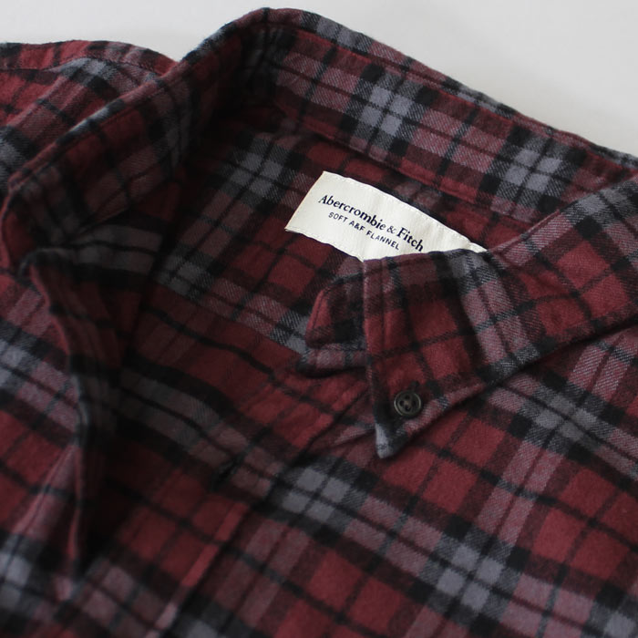 アバクロ新作ネルシャツ