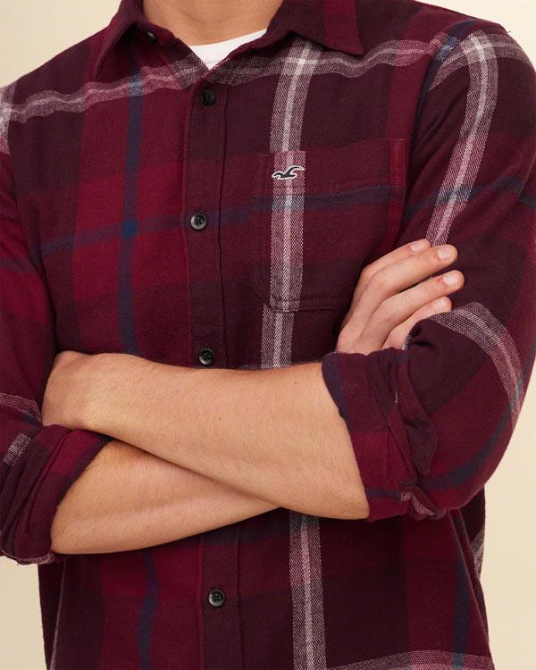 ホリスター ネルシャツ