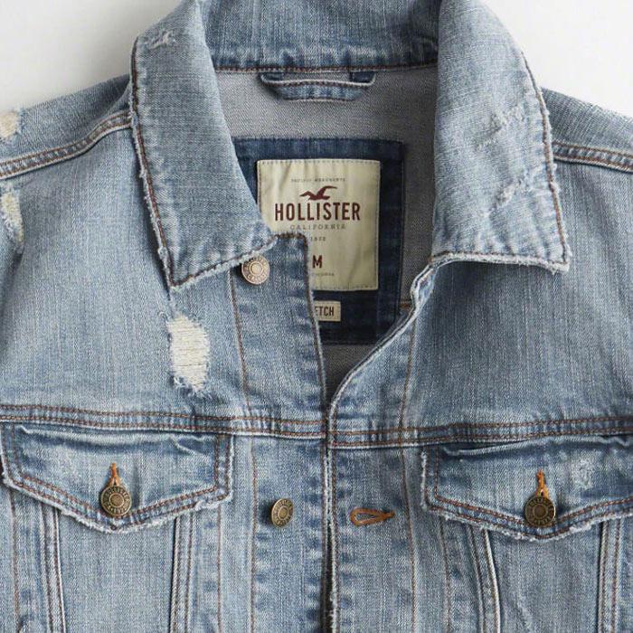 Hollister/ホリスター新作デニムジャケット